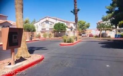 Las Vegas Condo/Townhouse For Sale: 4040 Cape Sand Drive