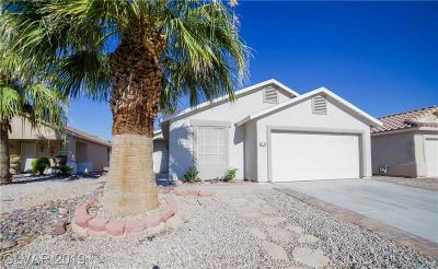 North Las Vegas Single Family Home For Sale: 5236 Jose Ernesto Street