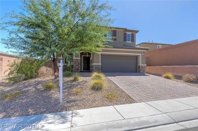 NORTH LAS VEGAS Single Family Home For Sale: 3740 Blissful Bluff Street