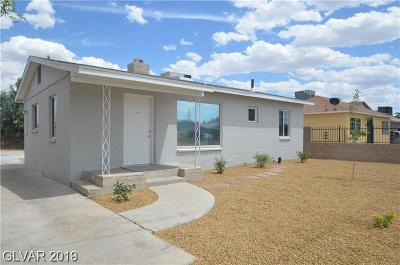 North Las Vegas Single Family Home For Sale: 1928 Stanford Street