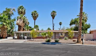Las Vegas Single Family Home For Sale: 105 Woodley Street