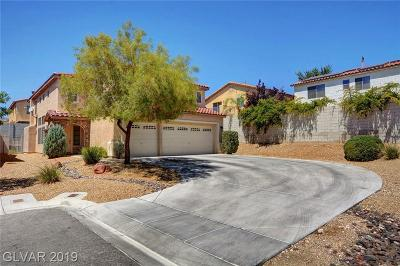 Las Vegas Single Family Home For Sale: 5515 Victoria Springs Court