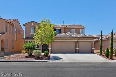 NORTH LAS VEGAS Single Family Home For Sale: 3931 Gaster Avenue