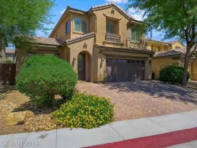 NORTH LAS VEGAS Single Family Home For Sale: 3832 Lower Saxon Avenue