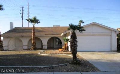 Las Vegas NV Single Family Home For Sale: $187,000