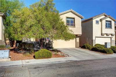 Las Vegas Single Family Home Under Contract - Show: 10946 Salernes Street