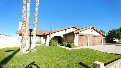 Las Vegas Single Family Home For Sale: 3991 Glory Court