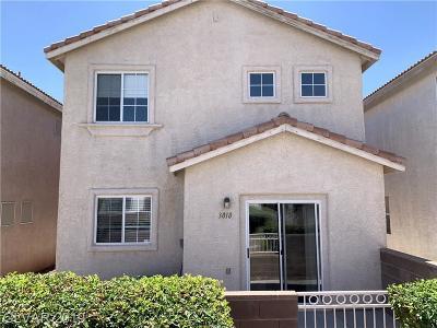 North Las Vegas Single Family Home For Sale: 3018 Sunset Harbor Court