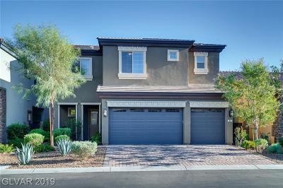 Las Vegas Single Family Home For Sale: 89 Tesla Ridge Way