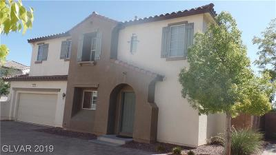 North Las Vegas Single Family Home For Sale: 1019 Shades End Avenue