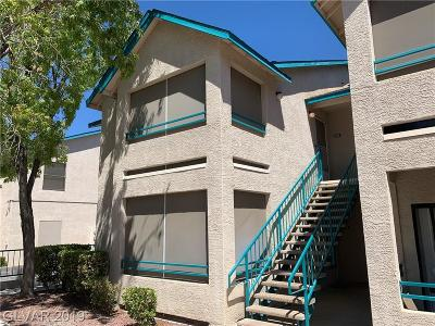 Las Vegas Condo/Townhouse For Sale: 5211 Lindell Road #205