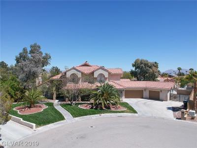Las Vegas Single Family Home For Sale: 1500 Windhaven Circle