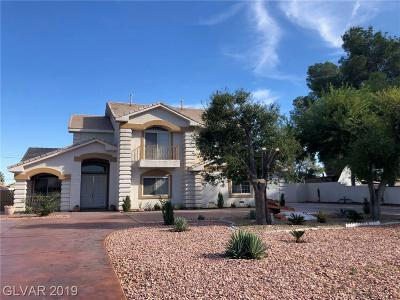 Las Vegas Single Family Home For Sale: 1964 Westwind Road