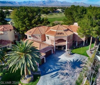 Las Vegas Single Family Home For Sale: 53 Princeville Lane