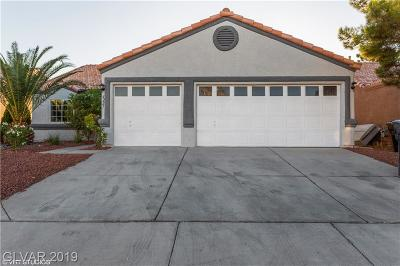 NORTH LAS VEGAS Single Family Home For Sale: 6227 Arazi Lane