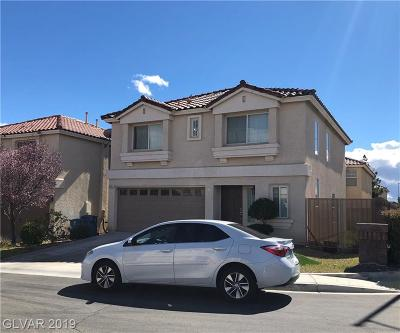 Las Vegas Single Family Home For Sale: 6127 Percussion Court