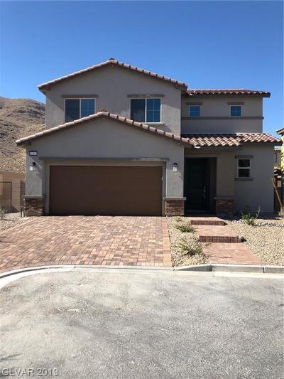 Las Vegas Single Family Home For Sale: 12897 Slipknot Street
