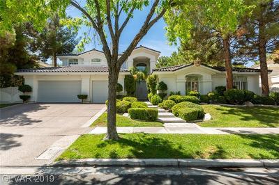 Henderson Single Family Home For Sale: 2364 Villandry Court