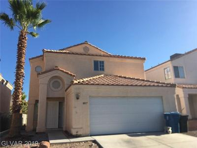 Las Vegas Single Family Home For Sale: 8017 Redskin Circle