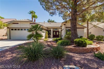 Centennial Hills Single Family Home For Sale: 5416 Singing Hills Drive