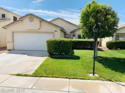 Single Family Home Under Contract - No Show: 4837 Morning Splash Avenue