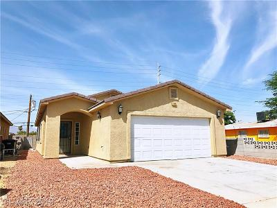 Las Vegas Single Family Home For Sale: 1188 Miller Avenue