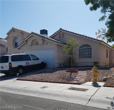 Las Vegas Single Family Home For Sale: 3713 Bronco Billy Court