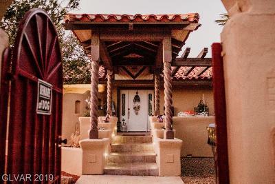 Las Vegas Single Family Home For Sale: 9545 Bonita Vista Street