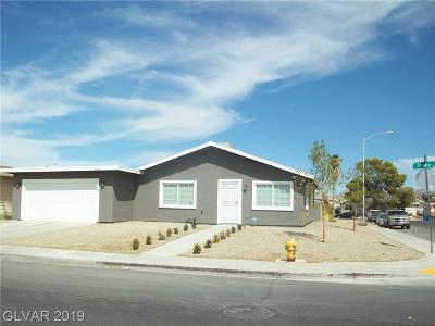 Sunrise Manor Single Family Home For Sale: 4180 Studio Street