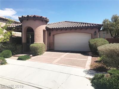 Las Vegas Single Family Home For Sale: 2100 Desert Prairie Street