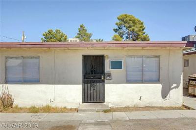Las Vegas Multi Family Home For Sale: 900 H Street