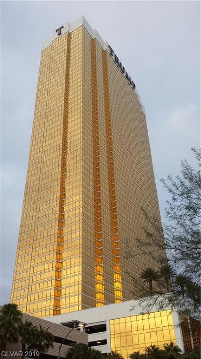 Trump Intl Hotel & Tower-, Trump Intl Hotel & Tower- Las High Rise For Sale: 2000 Fashion Show Drive #2903