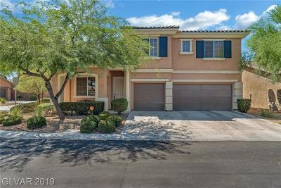 Single Family Home For Sale: 10581 Aloe Springs Street
