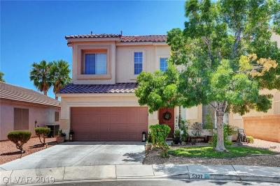 Centennial Hills Single Family Home For Sale: 5337 West Cool Dawn Court