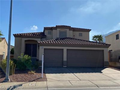 Henderson Single Family Home For Sale: 751 Camino La Paz