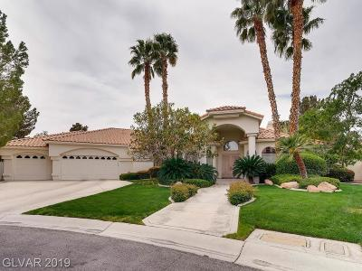 Las Vegas NV Single Family Home For Sale: $1,500,000