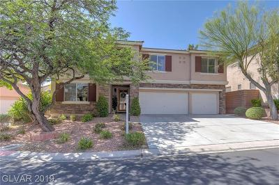 Centennial Hills Single Family Home For Sale: 10109 French Pine Avenue