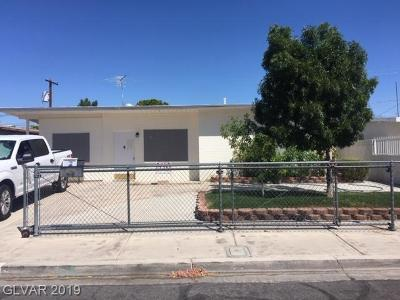 Las Vegas Single Family Home For Sale: 508 Stanford Street