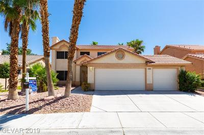 Las Vegas Single Family Home For Sale: 2500 Goldenmoon Street