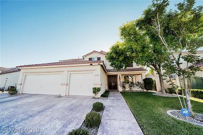 North Las Vegas Single Family Home For Sale: 6325 Winterhawk Court