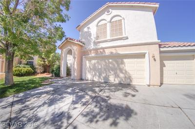 North Las Vegas Single Family Home For Sale: 3138 Saleen Court