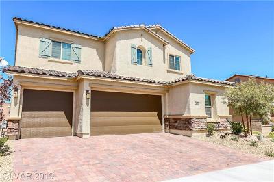 Henderson NV Single Family Home For Sale: $499,900