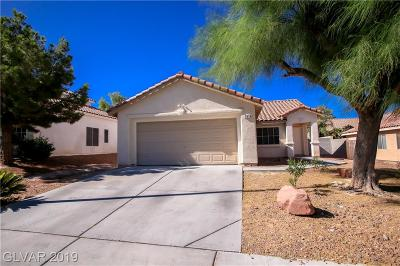 North Las Vegas Single Family Home For Sale: 3110 Crownline Court