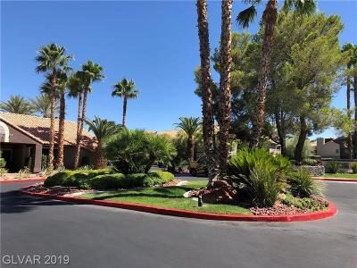 Las Vegas Condo/Townhouse For Sale: 5072 Rainbow Boulevard #103