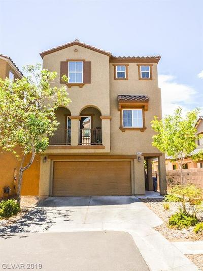 Las Vegas Single Family Home For Sale: 6445 Addamo Peak Court