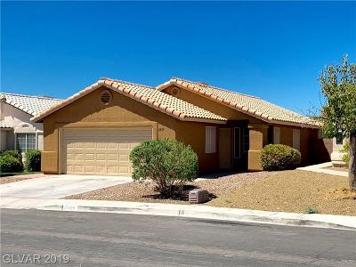 Las Vegas Single Family Home For Sale: 2859 Mt Hope Drive