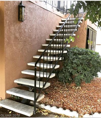 Las Vegas Condo/Townhouse For Sale: 6600 Bubbling Brook Drive #D