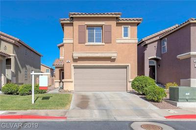 Henderson Single Family Home Under Contract - No Show: 640 Jumbled Sage Court