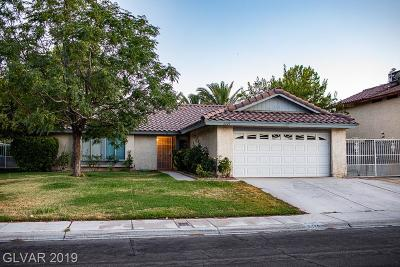 Las Vegas Single Family Home For Sale: 6429 Beechcrest Road
