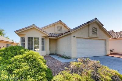 Centennial Hills Single Family Home For Sale: 4540 Savin Circle